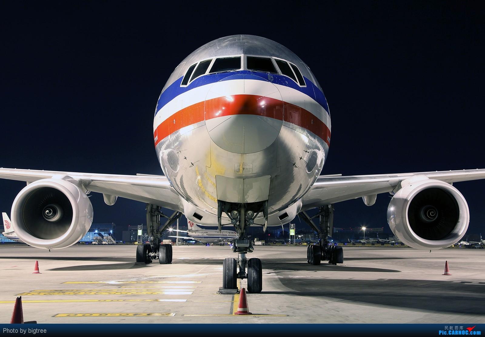 [原创]2011元旦夜班,AA大钢管,附送两张同事工作照 BOEING 777-200 N755AN PEK