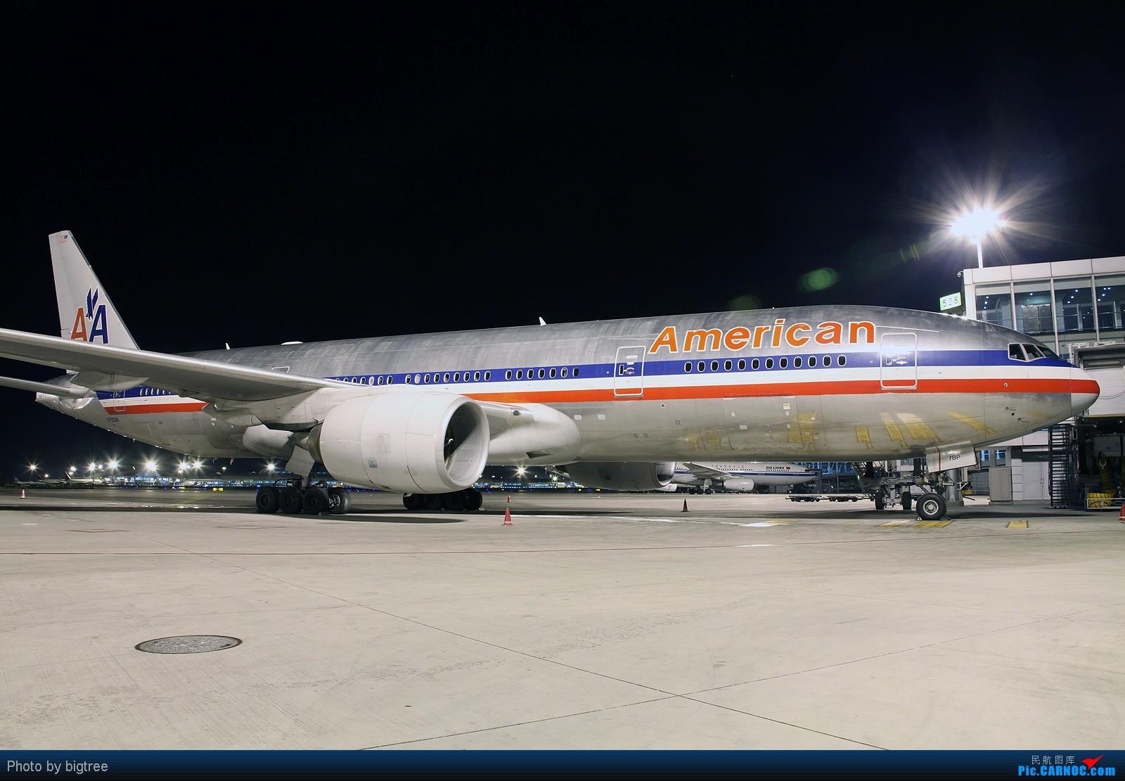Re:[原创]2011元旦夜班,AA大钢管,附送两张同事工作照 BOEING 777-200 N755AN PEK