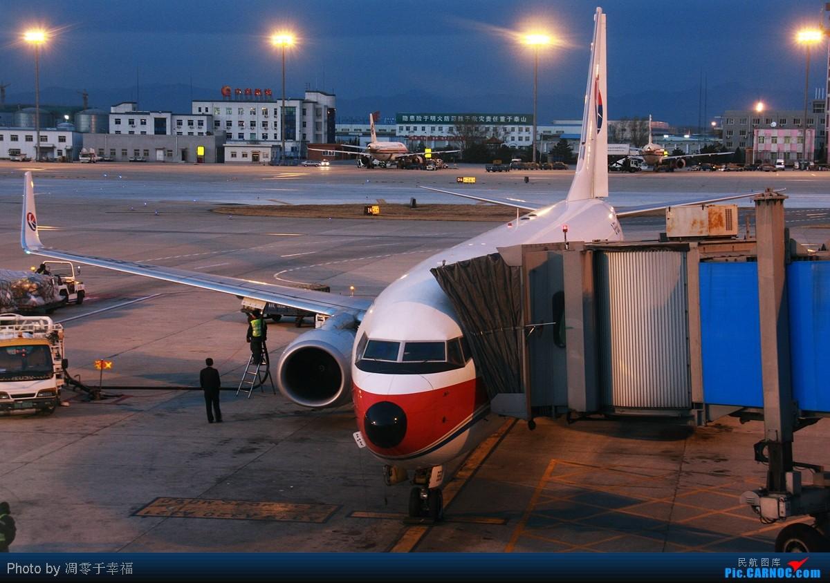 [原创]【BLDDQ】迎接2011--夜航前!! BOEING 737-800 B-5501 中国北京首都机场