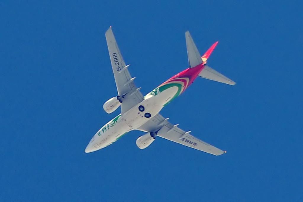 Re:[原创][Andrei]无心插柳之作——登西山的附属品 BOEING 737-700 B-2669 昆明西山