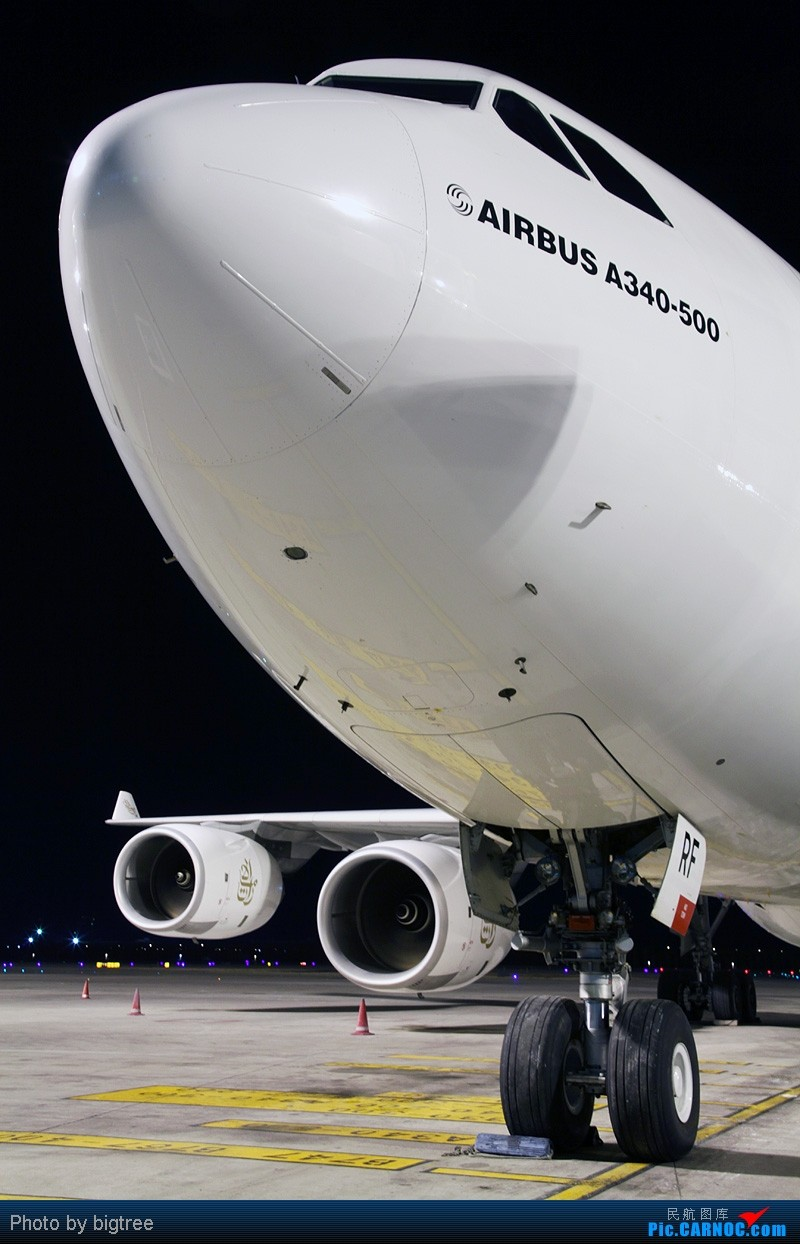 Re:[原创]杂图一大堆 AIRBUS A340-500 A6-ERF 中国北京首都机场