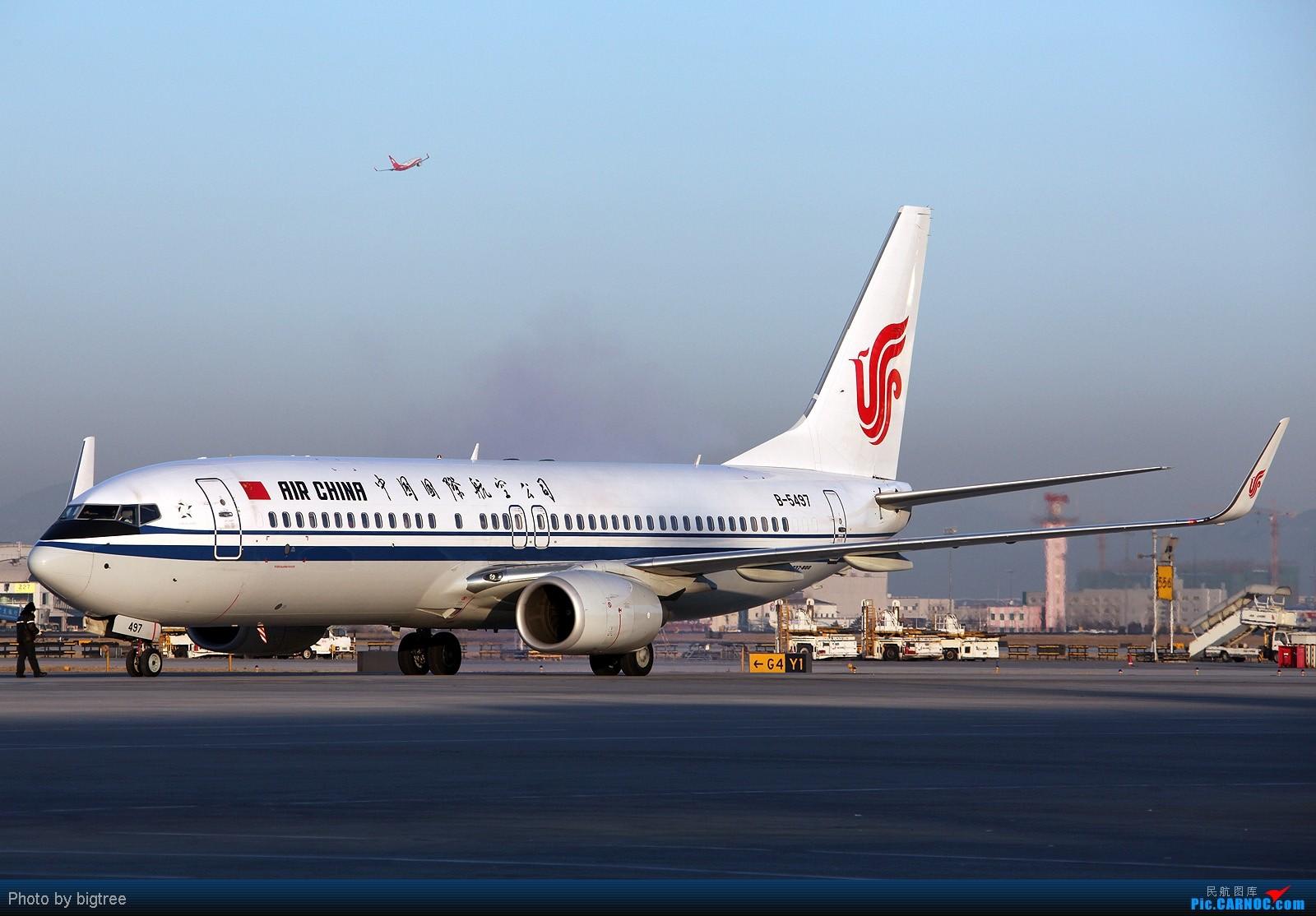 Re:[原创]杂图一大堆 BOEING 737-800 B-5497 中国北京首都机场