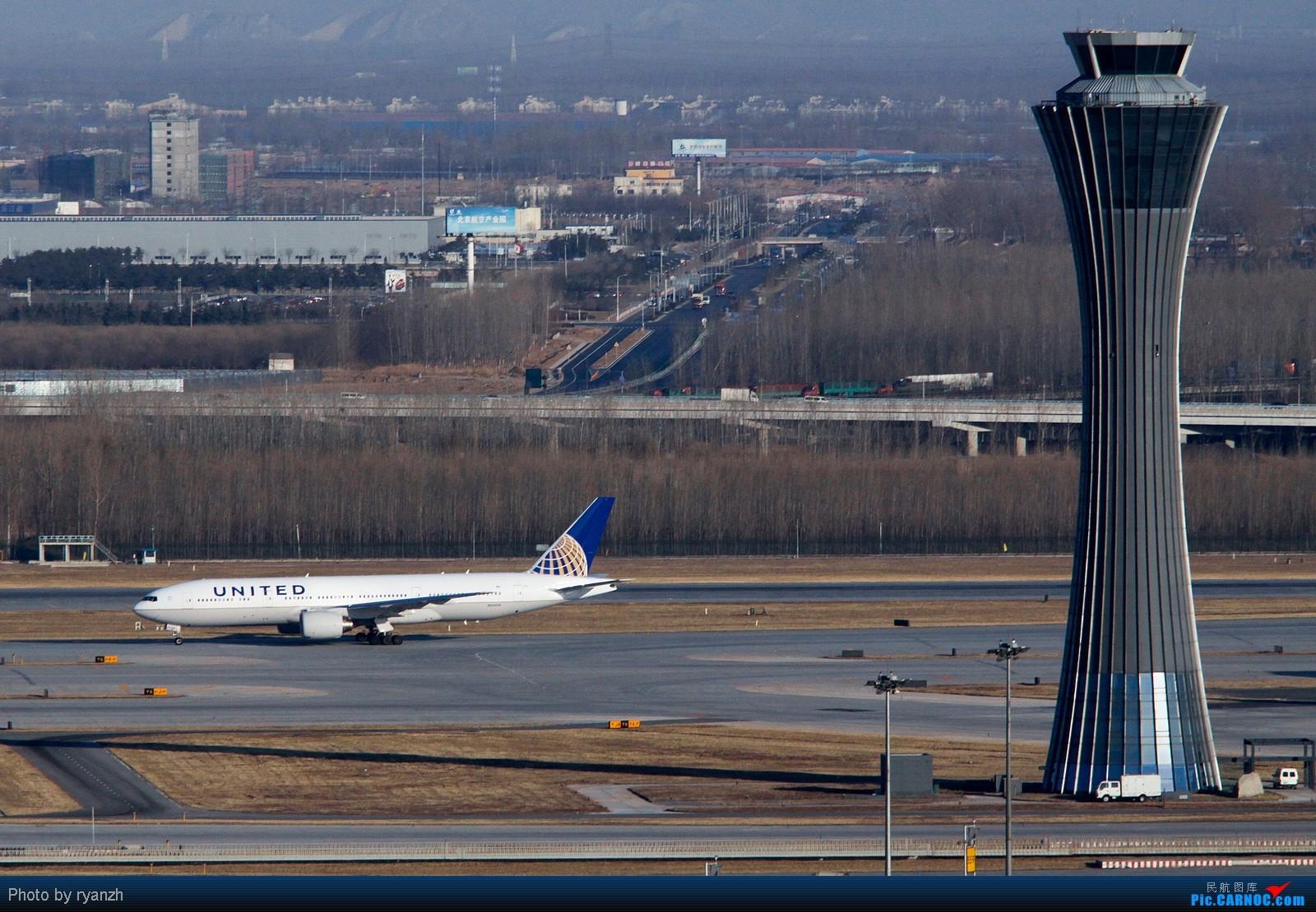 Re:【Ryan的旅程】居高临下看PEK BOEING 777-200 N224UA 中国北京首都机场