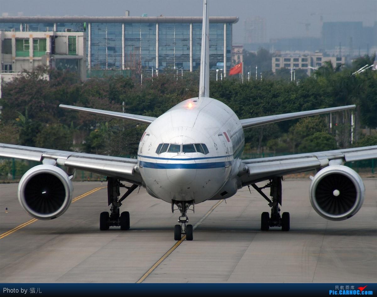 Re:[原创][CASG]砸飞机砸穷了,发两张存货蹭点小飞机...哈哈~ BOEING 777-200 B-2069 中国广州白云机场
