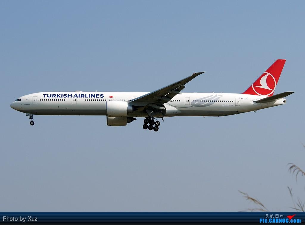 [原创]欢迎土耳其航空首航CAN BOEING 777-300 TC-JJE 中国广州白云机场