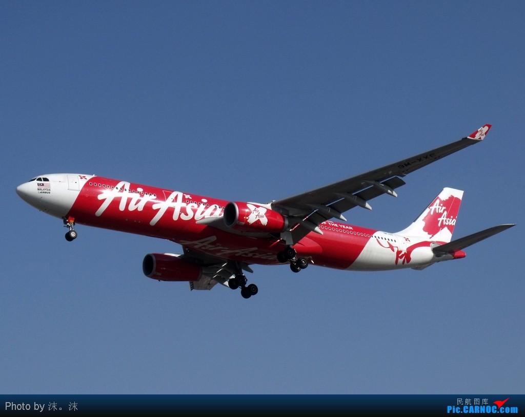 虎年最后一次TSN拍机,祝大家新年快乐! AIRBUS A330-300 9M-XXE 中国天津滨海机场
