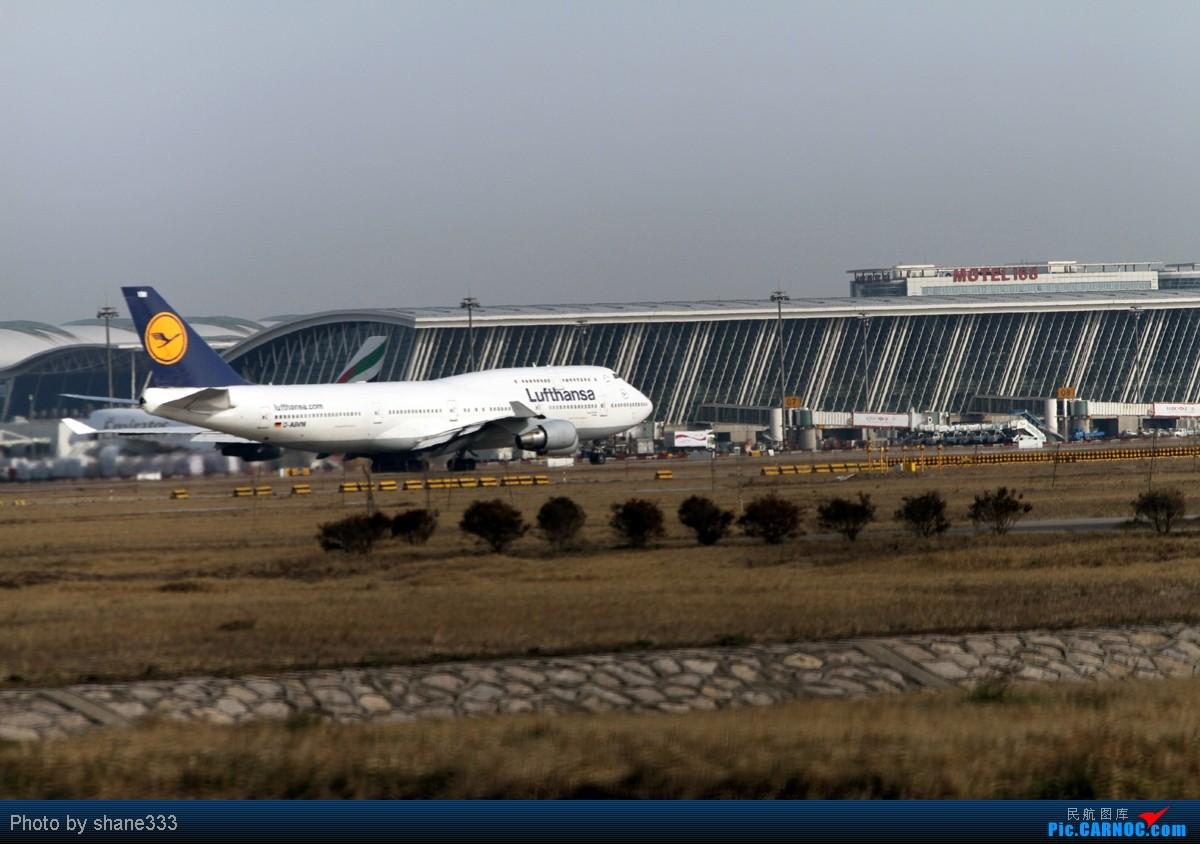 Re:【Shane拍机】浦东久违的大晴天,多谢红茶哥带我到这个神仙位~~拍了两个下午~~外航篇~~~ BOEING 747-400 D-ABVM 中国上海浦东机场
