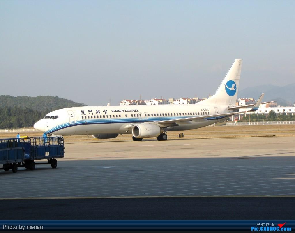 Re:[原创]冬日冷饭:年末的城际飞行,让白鹭带我飞一下吧…… BOEING 737-800 B-5488 中国福州长乐机场