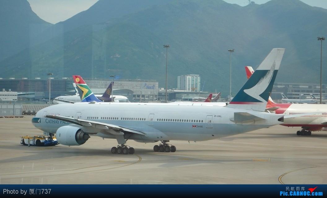 香港机场拍机记-国泰航空boeing