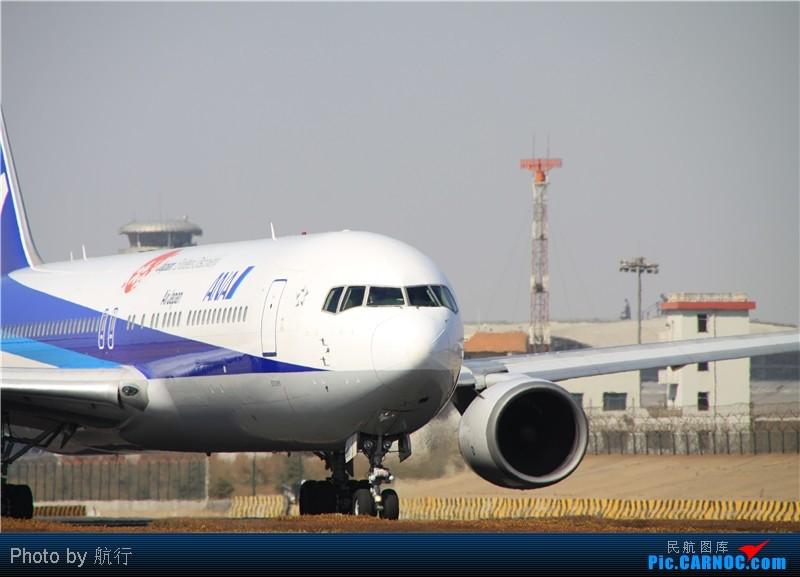 [原创]ana ja610a 中国青岛流亭机场