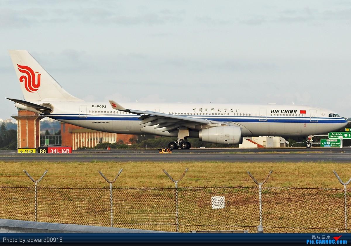 Re:[原创]看一看,瞧一瞧,哪国的美女长得最好看,哪国的美女身材最火辣~~~吼吼吼,各种标准照 AIRBUS A330-243 B-6092 澳大利亚悉尼金斯福德·史密斯机场