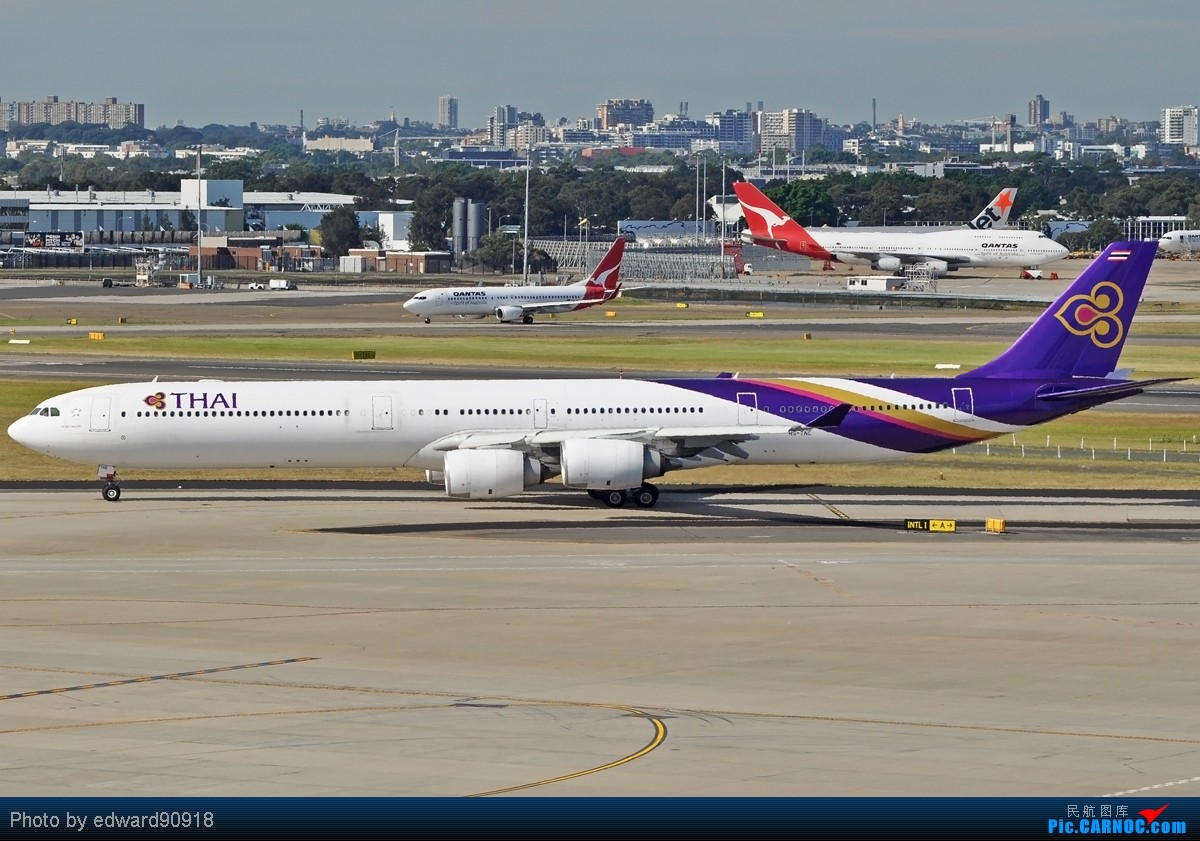 Re:[原创]看一看,瞧一瞧,哪国的美女长得最好看,哪国的美女身材最火辣~~~吼吼吼,各种标准照 AIRBUS A340-642X HS-TNE 澳大利亚悉尼金斯福德·史密斯机场