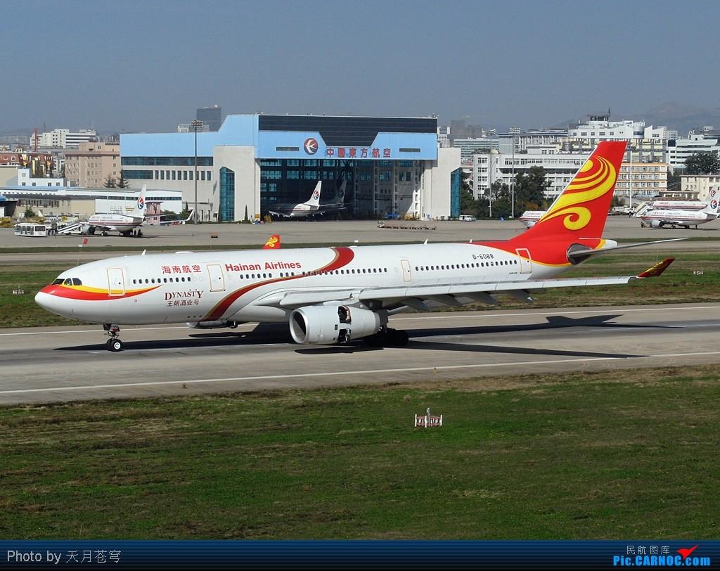 Re:[原创]【KMG】又到一年生日时,不知不觉已近三块一, 时光如梭啊~~! AIRBUS A330-200 B-6088 中国昆明巫家坝机场