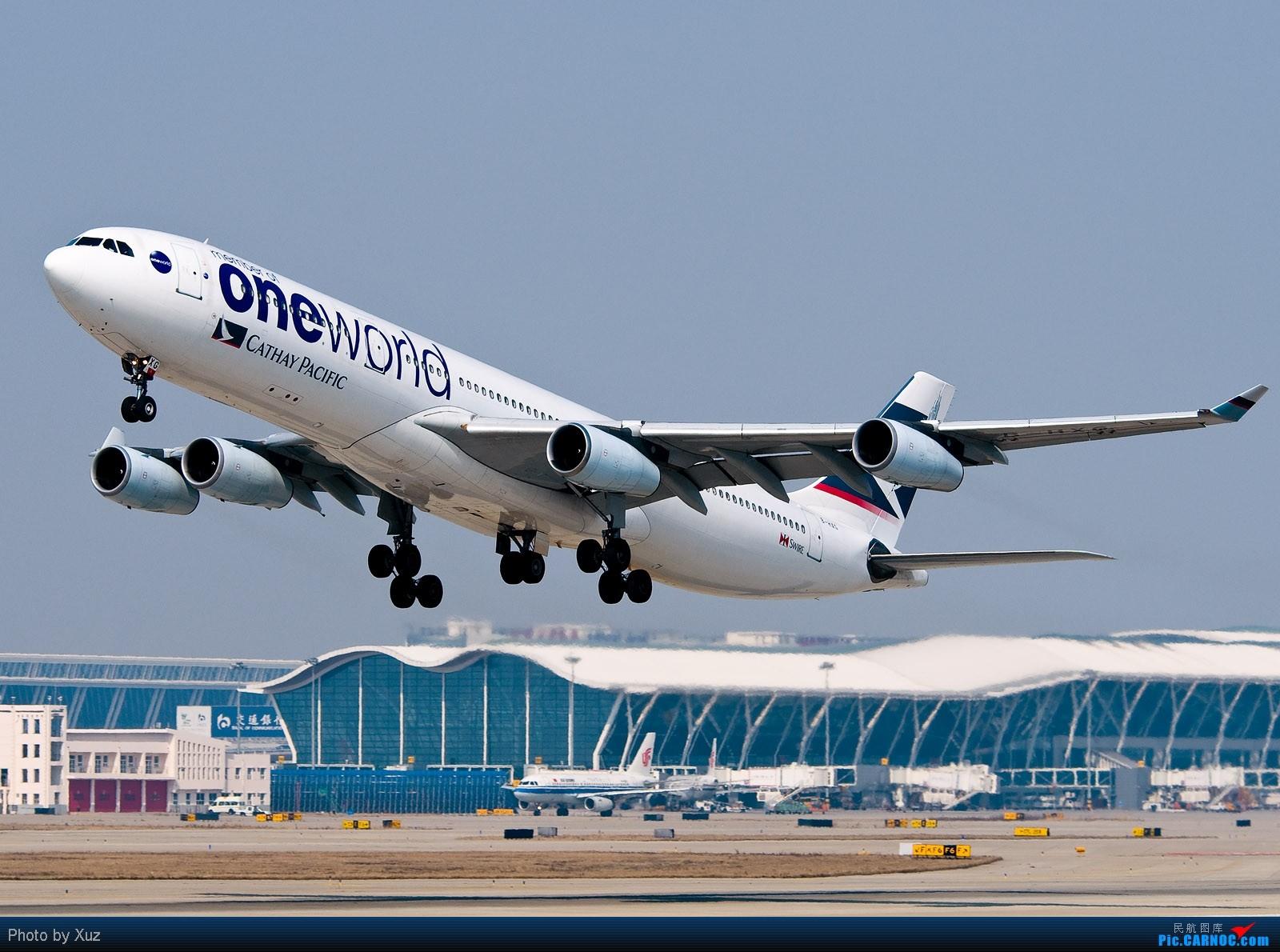 Re:[原创]我来上海了,DJ来了广东,好东西不少 AIRBUS A340-300 B-HXG 中国上海浦东机场