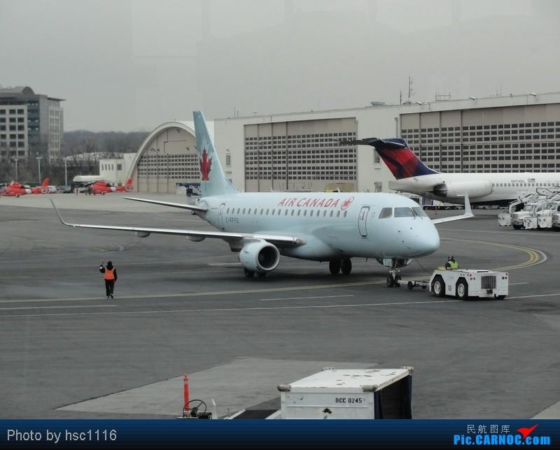 Re:[原创]纽约,华盛顿之行。关键词:Air Tran, Boeing 717, 无畏号航母,史密森航空博物馆,大雪延误,标题要长... EMBRAER ERJ-170 C-FFYG