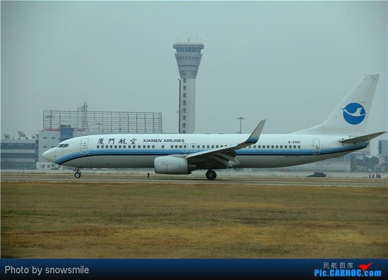 Re:[原创]【NKG】飞友聚会  爆人  爆天气  爆飞机 BOEING 737-800 B-5551
