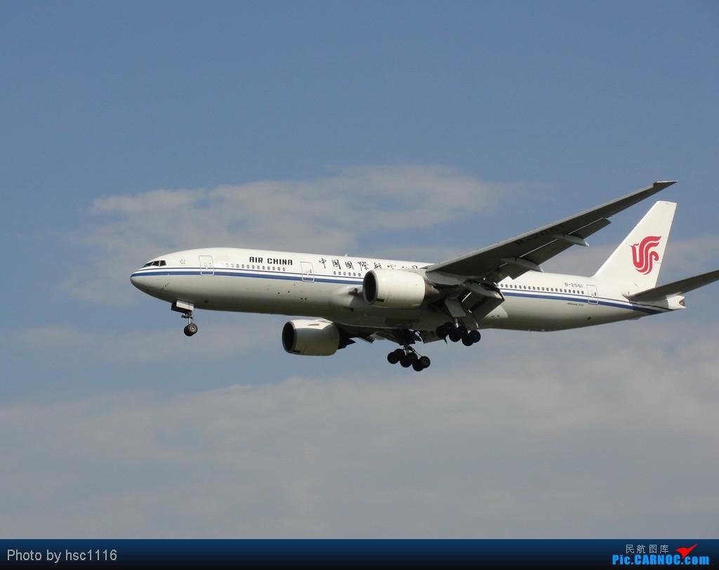 Re:[原创]真的是 太久没拍灰机了 连发帖子都手生了 如果本帖图片引起您肠胃生理反应 请您谅解 BOEING 777-200 B-2061 中国北京首都机场