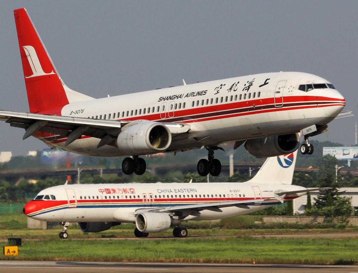 [原创]东方有个上海 BOEING 737-800 B-5076 中国南京禄口机场