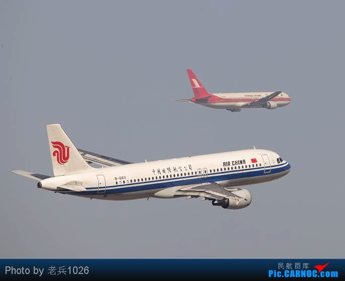 Re:[原创]跑道01起飞,右转030. AIRBUS A320-200 B-6611 PEK