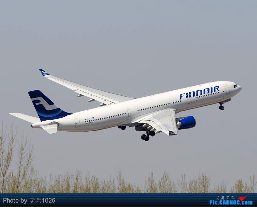 Re:[原创]跑道01起飞,右转030. AIRBUS A330-200 OH-LTR PEK