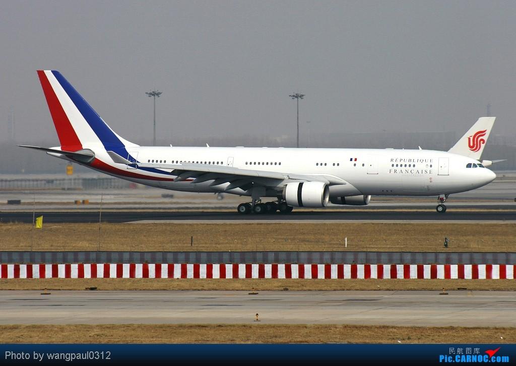 Re:[原创]贴几长重量级的公务机-------几位首脑的座驾 AIRBUS A330-223 F-RARF 北京首都国际机场