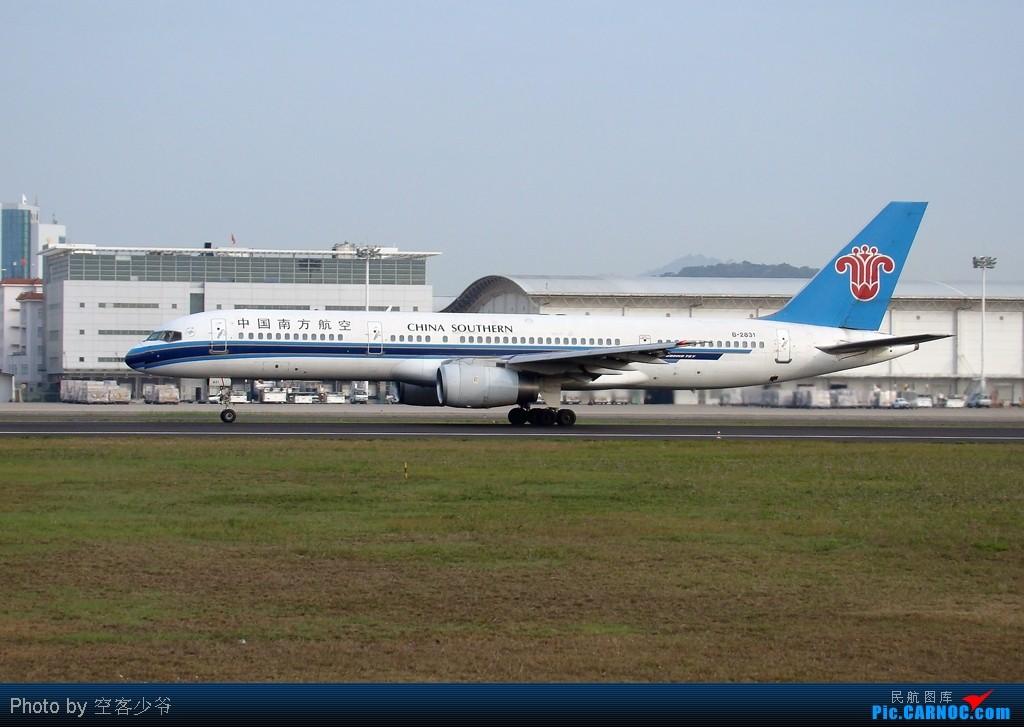 Re:[原创]【XMN】终于拍到CK的777F啦!好开心,虽然国泰的773爽约了~ BOEING 757-200 B-2831 中国厦门高崎机场