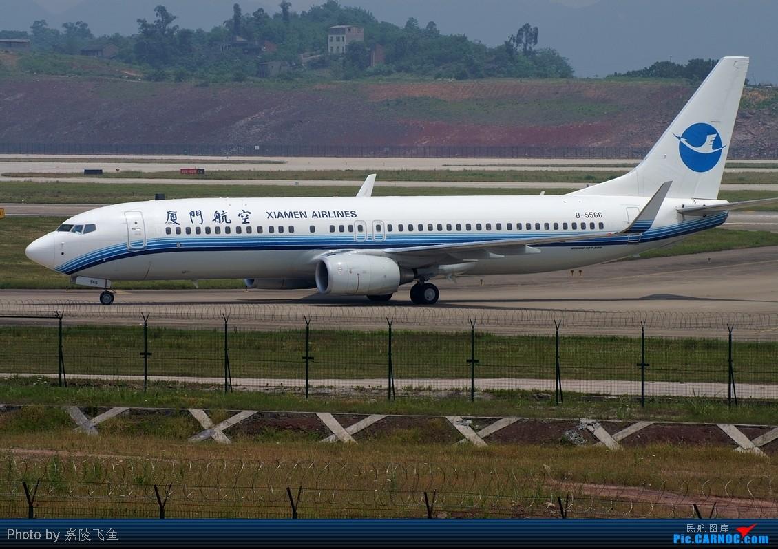re:重庆机场的一组起降 boeing 737-800 b-5566 中国重庆江北机场