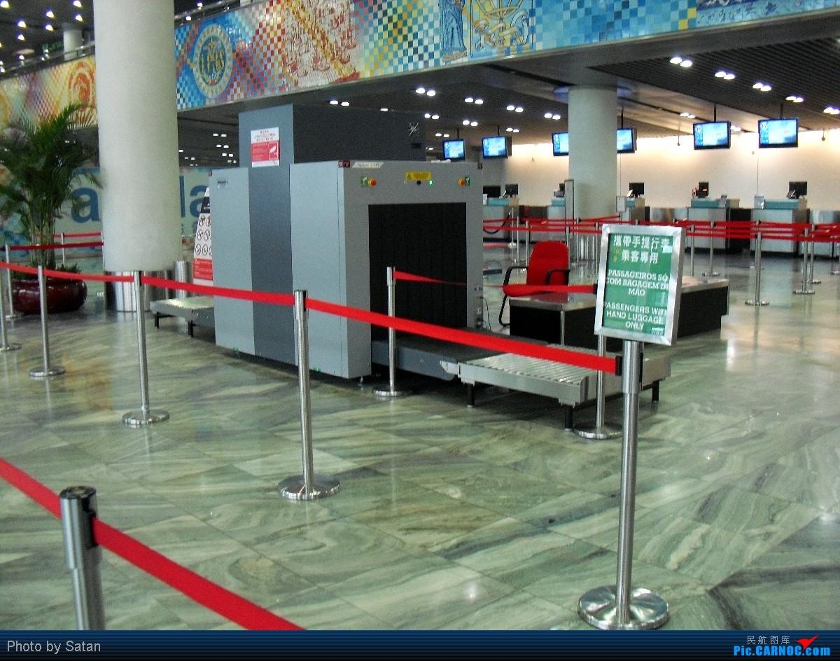 [原创]澳门国际机场(MFM)-台湾桃园国际机场(T