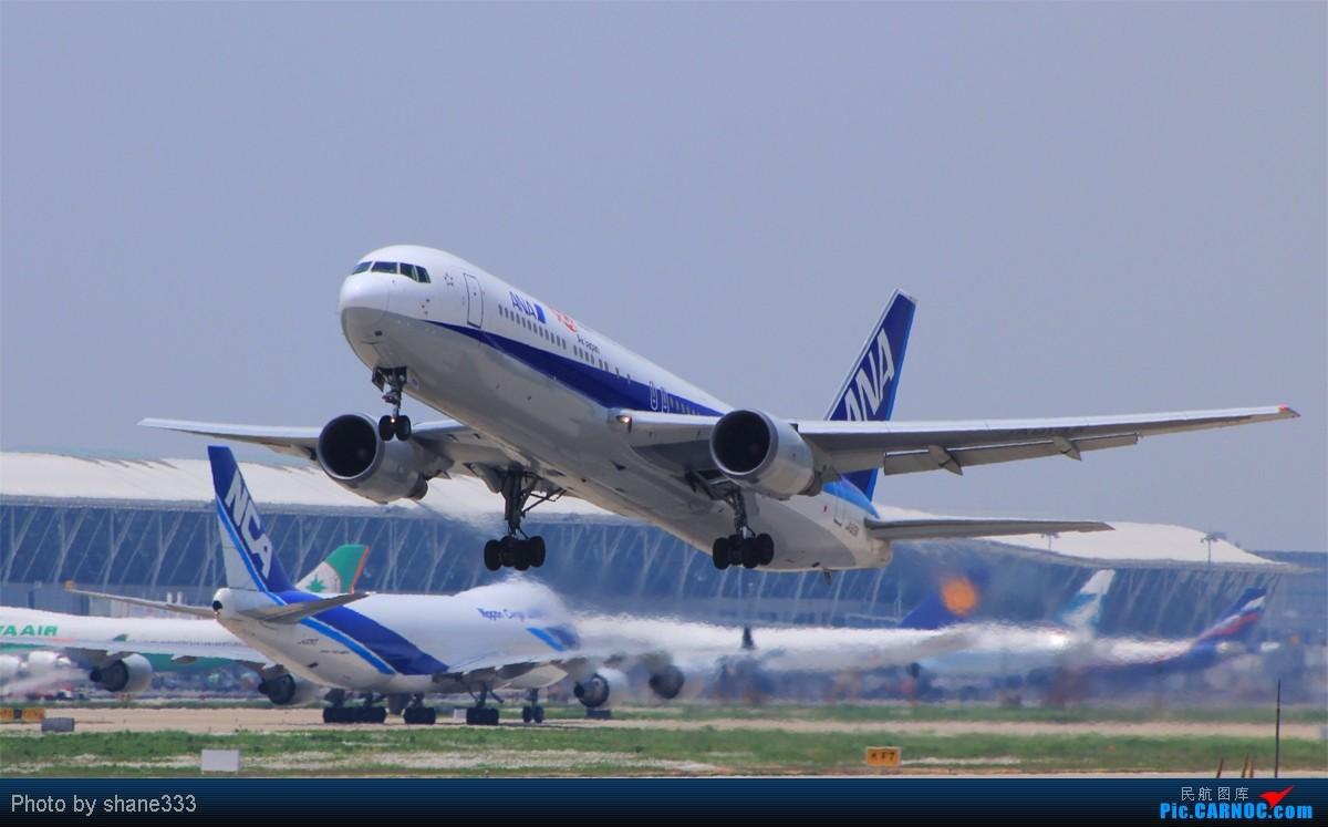 Re:昨天的PVG实在是太给力了。。不是好货我都不好意思发~~~ BOEING 767-300 JA613A 中国上海浦东机场