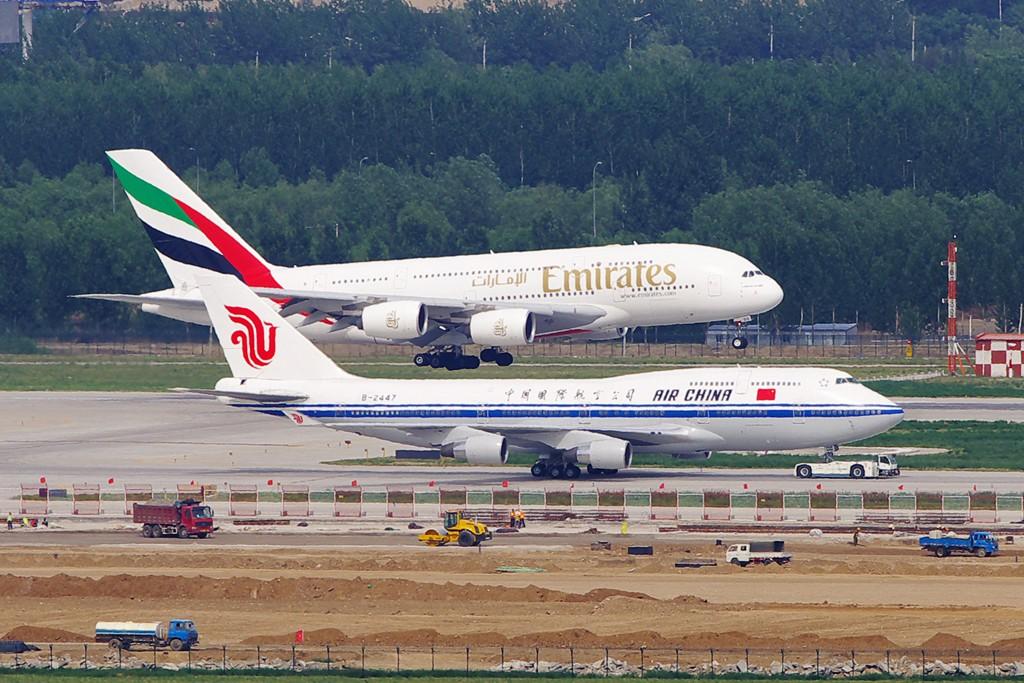 Re:[原创][Andrei]__PEK的塔台,是必须要拜的,感谢很多人! BOEING 747-400 B-2447 中国北京首都机场