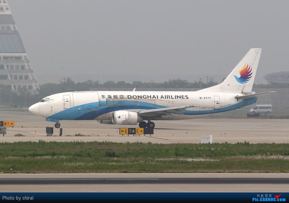 Re:[原创]521的pvg,半天九只大彩绘,应该算及格了吧 BOEING 737-300 B-2517 中国上海浦东机场