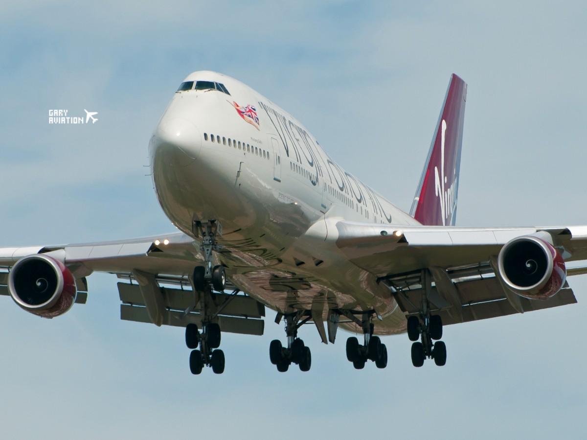 Re:[原创]伦敦希斯罗机场27R,午后质感大图,不忽悠 BOEING 747-400 G-VFDC 英国伦敦希思罗机场