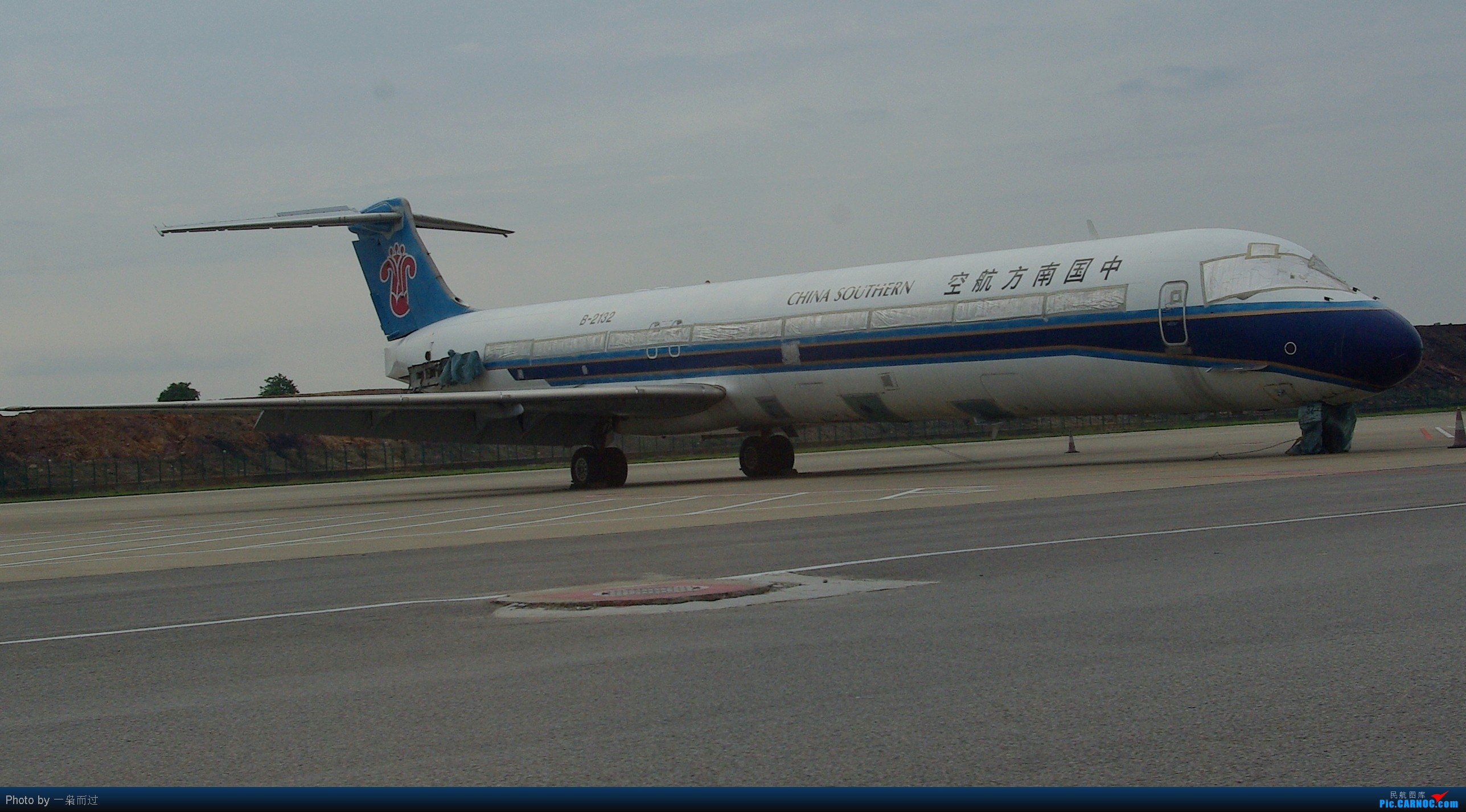 [原创]最后的MD-82【B2132】 MD-82 2132 白云机场
