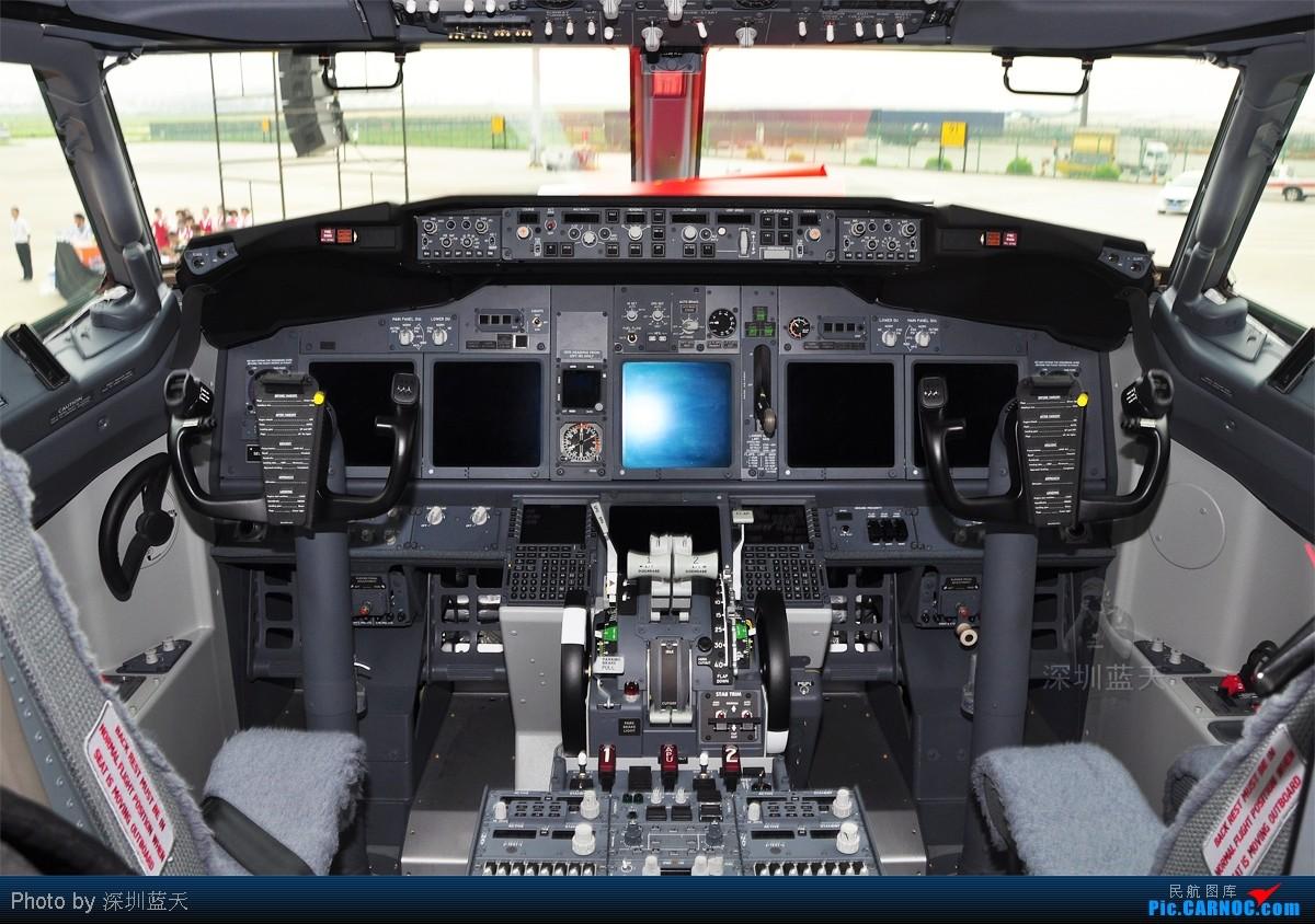 崭新的737-800驾驶舱图从151楼开始