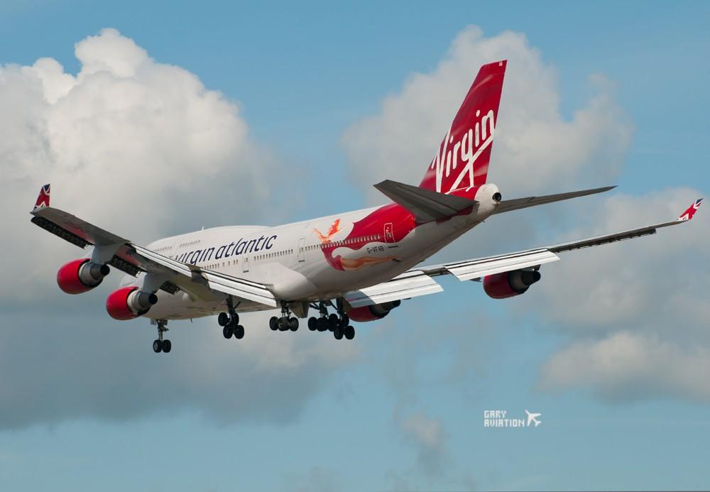 Re:[原创]今晚的温布利一定沸腾,飞机若干,今天伦敦街头一张。 BOEING 747-400 G-VFAB 英国伦敦希思罗机场