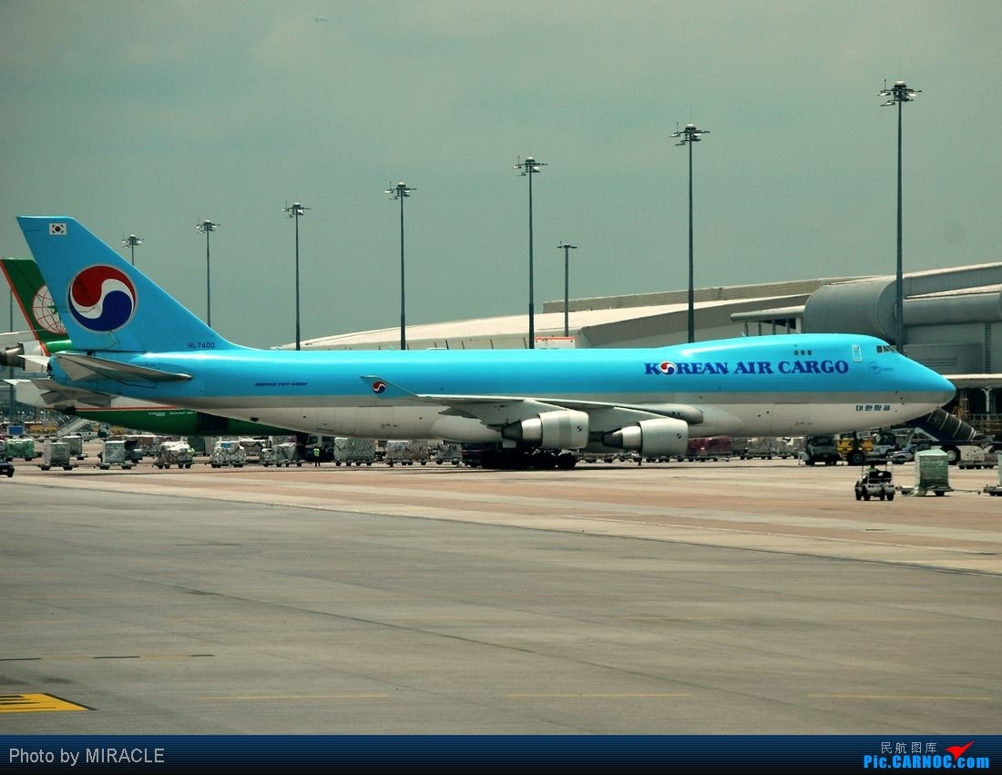 Re:******杂图一组******发一些国内不常见的 BOEING 747-400F HL7400 BANGKOK SUVARNABHUMI INTL