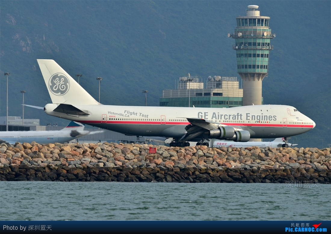Re:Re:[原创]【深圳飞友会】昨天香港拍机的最大收获,拍到一架GE飞机发动机测试机Boeing 747-100