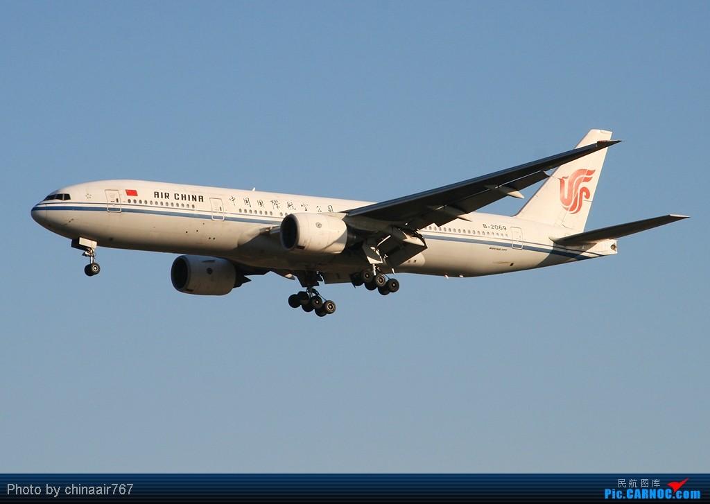 Re:[原创]☆☆☆首都机场夕阳下一组国航系,从大到小!☆☆☆ BOEING 777-200 B-2069 中国北京首都机场