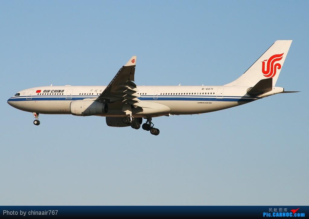 Re:[原创]☆☆☆首都机场夕阳下一组国航系,从大到小!☆☆☆ AIRBUS A330-200 B-6071 中国北京首都机场