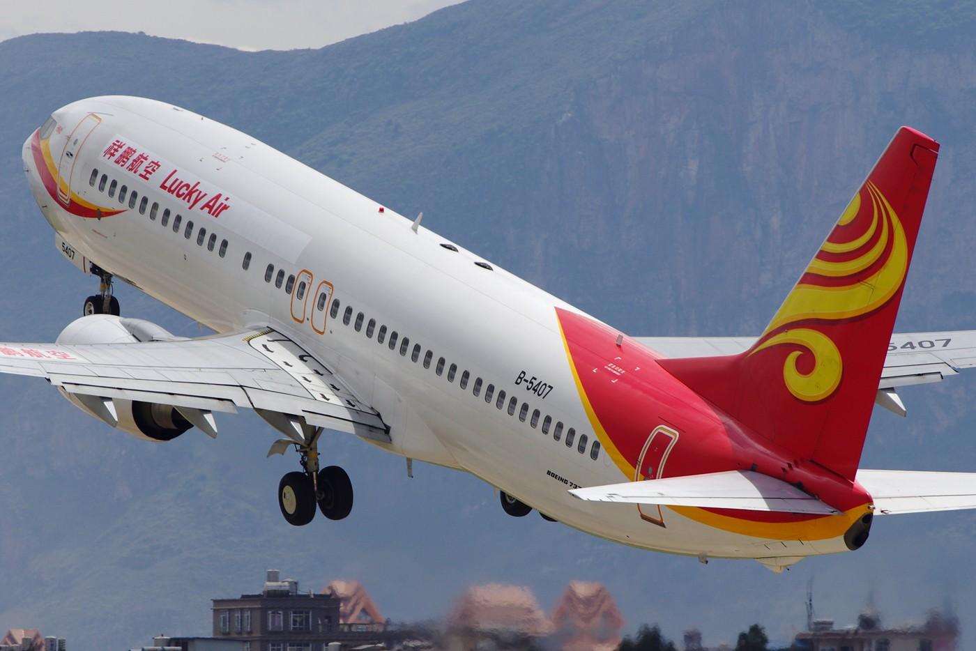 Re:[原创][Andrei]__节过完了,发一些比较大,比较满的图! BOEING 737-800 B-5407 中国昆明巫家坝机场