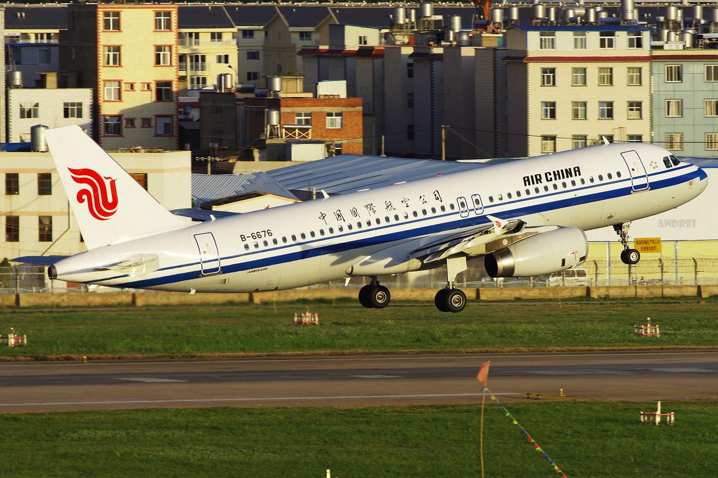 Re:[原创][Andrei]___有多少醉人的光线可以重来! AIRBUS A320-200 B-6676 中国昆明巫家坝机场
