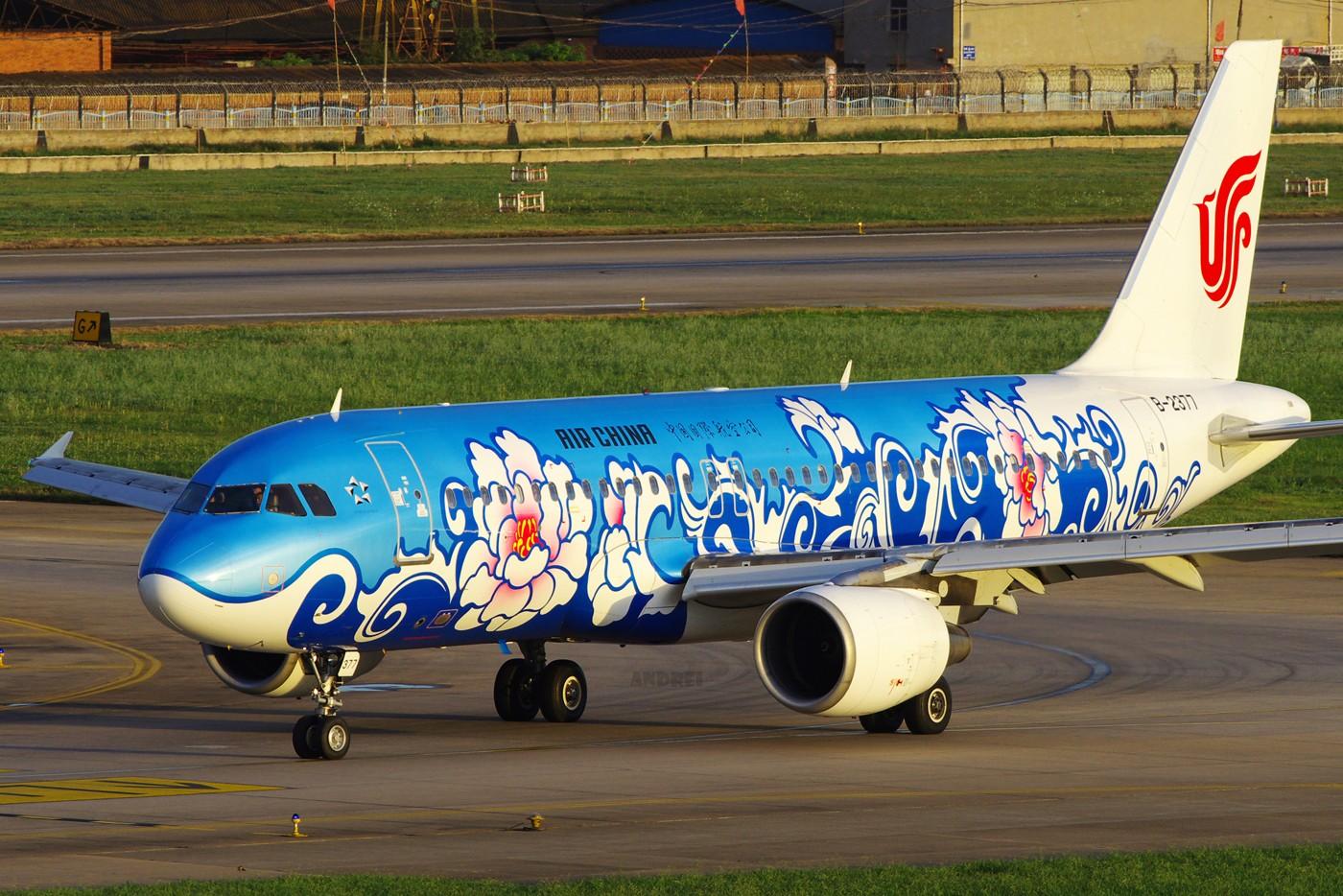 Re:[原创][Andrei]___有多少醉人的光线可以重来! AIRBUS A320-200 B-2377 中国昆明巫家坝机场