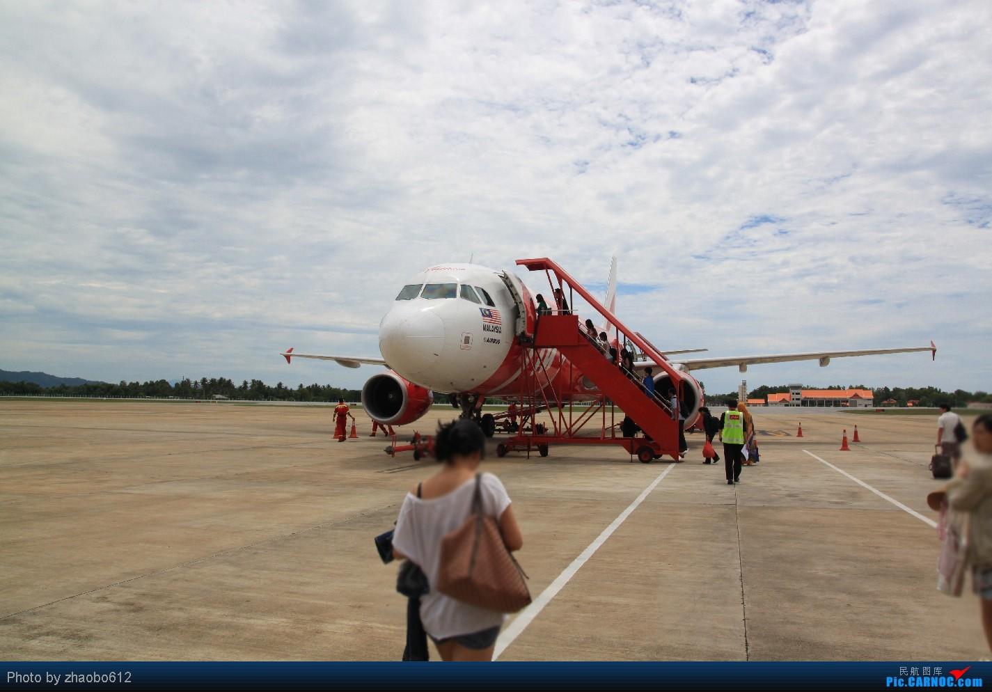[原创]亚航带我去旅行,再遇彩绘机(中集)    马来西亚瓜拉丁加奴机场