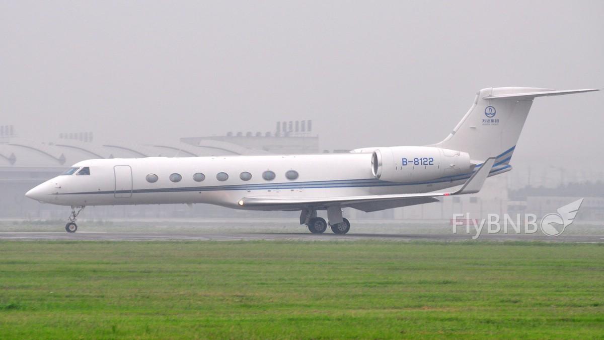 Re:[原创]【CTU】【成都飞友会】全日空NH948,等你很久了。大清早的冒这么大雨骑20公里我容易么我~~~新鲜出炉的图…… GULFSTREAM AEROSPACE GULFSTREAM G550 B-8122 中国成都双流机场