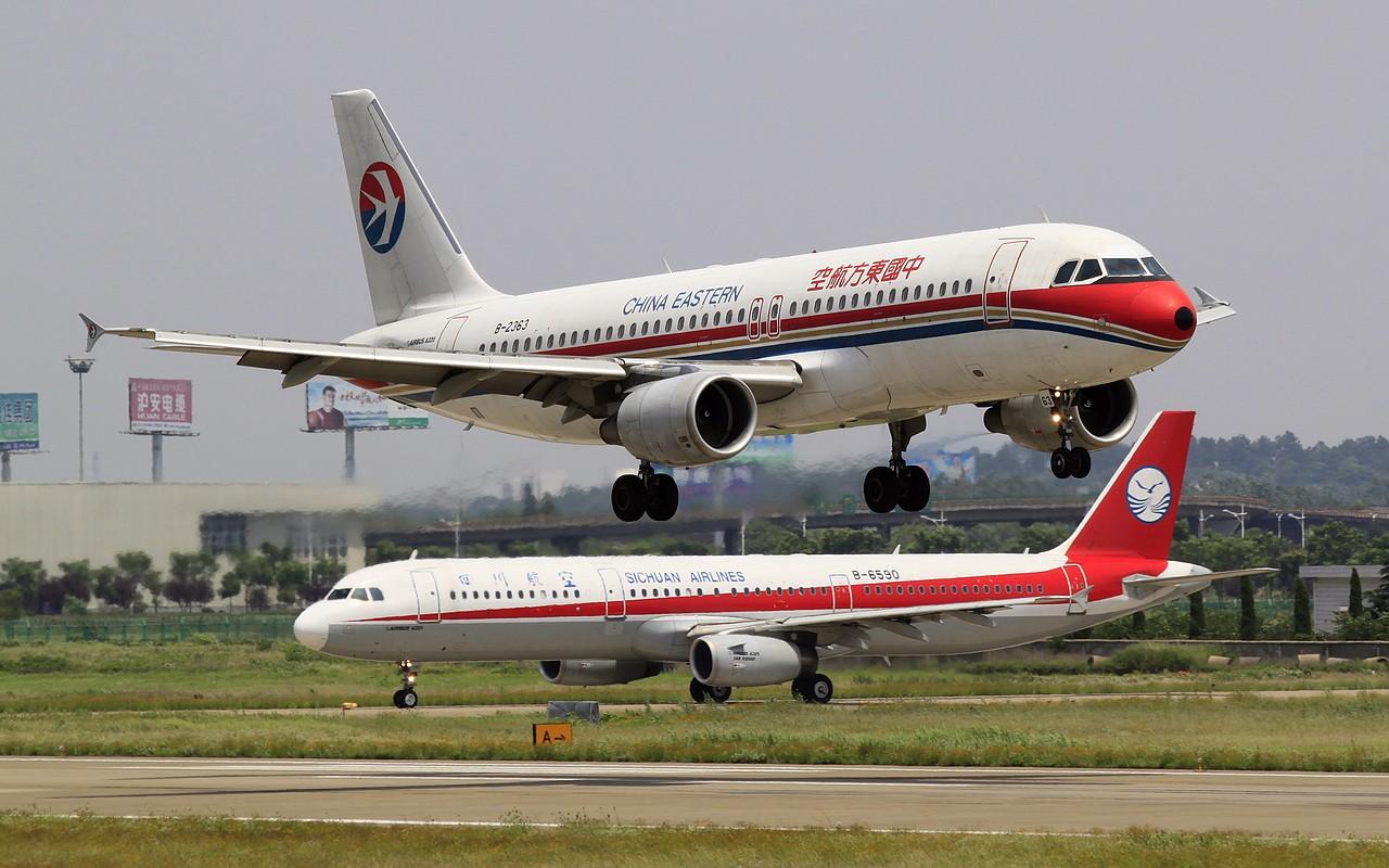 Re:[原创]【NKG】23日午后大顶光下的落地 AIRBUS A320-200 B-2363 中国南京禄口机场