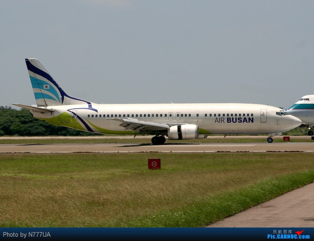 Re:[原创]最近拍的幾張 BOEING 737-400 HL7510 RCTP