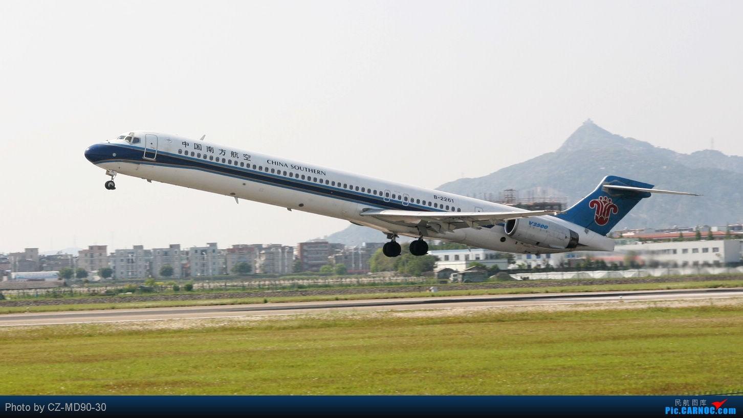 Re:[原创]又一架MD90离开了.B2261正在去美国的路上 MCDONNELL DOUGLAS MD-90-30 B-2261 中国温州永强机场