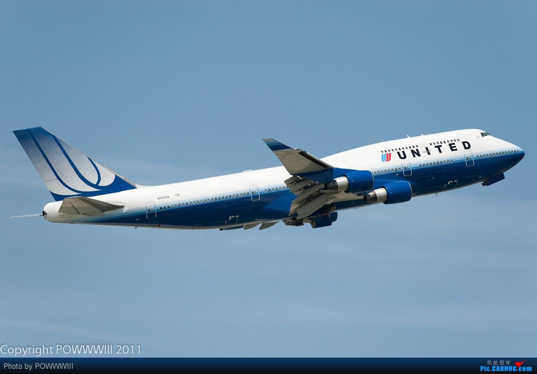 Re:[原创]【信天游1966影像】谢谢大家的支持进入重型机行列 上一组重型机 B747-400 N197UA 美国芝加哥机场