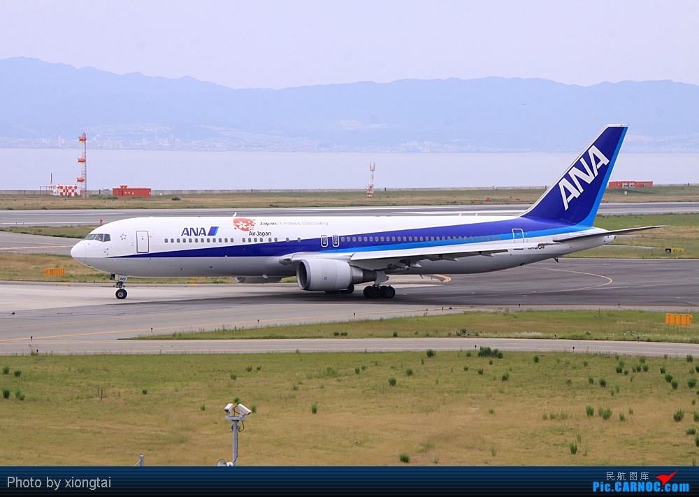 Re:梅雨期间的关西机场 BOEING 767-381/ER JA613A 日本关西机场