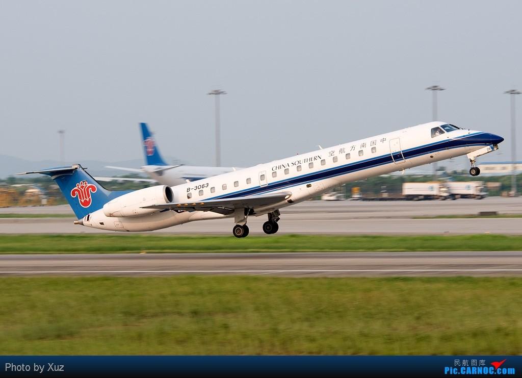 Re:[原创]近来杂图一堆,有东航云南公司等等 EMBRAER ERJ-145 B-3063 中国广州白云机场